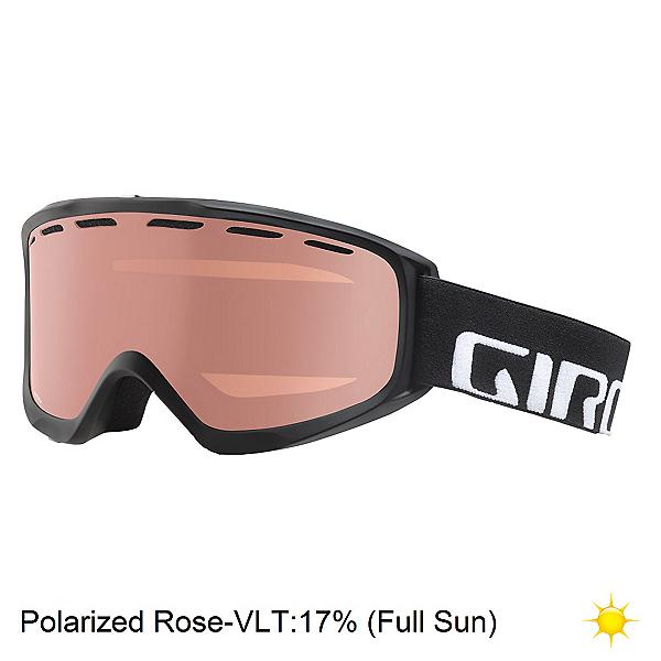 Giro Index Polarized OTG Goggles, Black Wordmark-Polarized Rose, 600