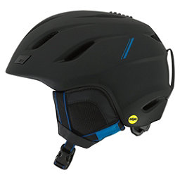 Giro Nine MIPS Helmet 2018, Matte Black Blue Sport Tech, 256