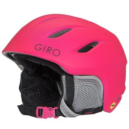 Giro Nine Jr. MIPS Kids Helmet, Matte Bright Pink, 256