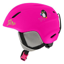 Giro Launch Kids Helmet, Matte Bright Pink Penguin, 256