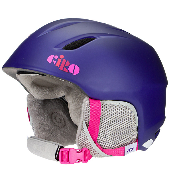 Giro Launch Kids Helmet, Matte Purple Clouds, 600