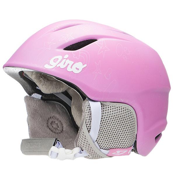 Giro Launch Kids Helmet, Pink Notebook, 600