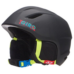 Giro Launch Kids Helmet, Black Ski Ball, 256