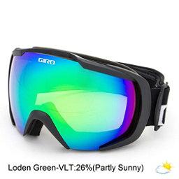 Giro Onset Goggles, Black Wordmark-Loden Green, 256