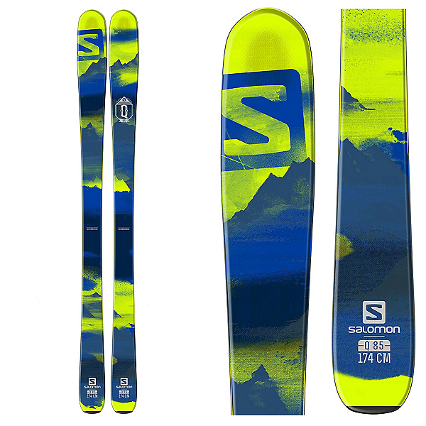 Salomon Q-85 Skis, , 600