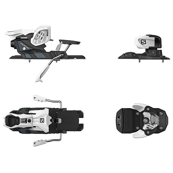 Salomon Warden MNC 13 Ski Bindings, White-Black, 600