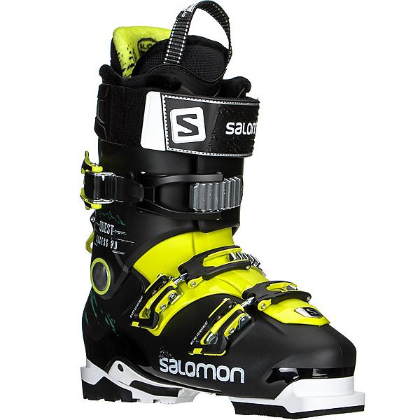Salomon Quest Access 90 Ski Boots, Black-Acide Green, 600