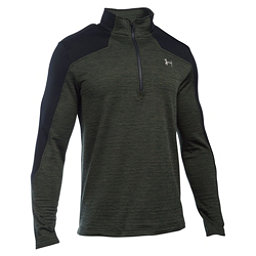 Under Armour Expanse 1/4 Zip Mens Mid Layer, Artillery Green-Graystone, 256