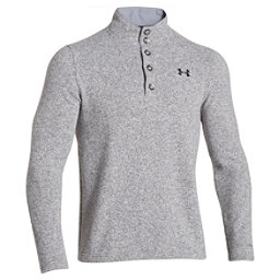 Under Armour Specialist Storm Mens Sweater, True Gray Heather-Black, 256
