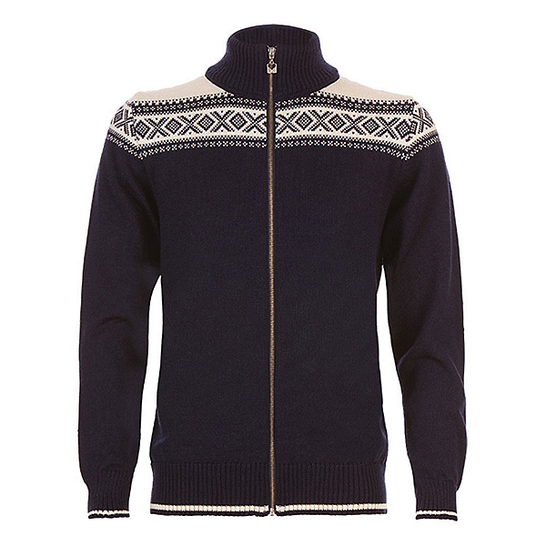 Dale Of Norway Hemsedal Masculine Mens Sweater, Navy-Off White, 600
