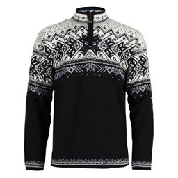 Dale Of Norway Vail Mens Sweater, Black-Light Charcoal-Smoke-Off, 256