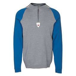 Dale Of Norway Besseggen Masculine Mens Sweater, Grey Melange-Cobalt-Off White-, 256