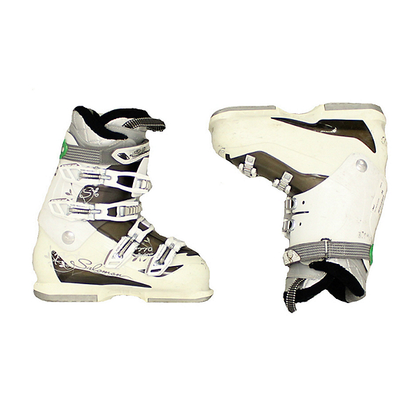 Used Womens Salomon Divine 770 Ski Boots White Black, , 600