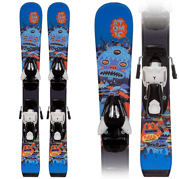Atomic Rascal I Kids Skis with Evox 045 Bindings, , 600