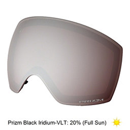 Oakley Flight Deck XM Goggle Replacement Lens, Prizm Black Iridium, 256
