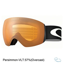 Oakley Flight Deck XM Goggles, Matte Black-Persimmon, 256