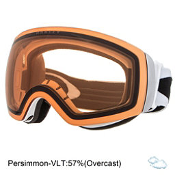 Oakley Flight Deck XM Goggles, Matte White-Persimmon, 256