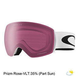 Oakley Flight Deck XM Prizm Goggles 2018, Matte White-Prizm Rose, 256