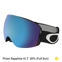 Oakley Flight Deck XM Prizm Goggles 2018, Matte Black-Prizm Sapphire Iri, 256