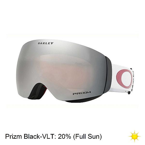 Oakley Flight Deck XM Prizm Goggles, Wet Dry Ice Slate-Prizm Black Iridium, 600