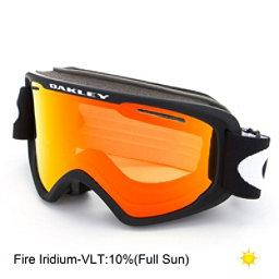 Oakley O2 XM Goggles 2018, Matte Black-Fire Iridium, 256