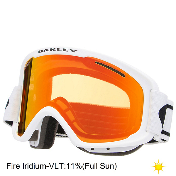 Oakley O2 XM Goggles, Matte White-Fire Iridium, 600