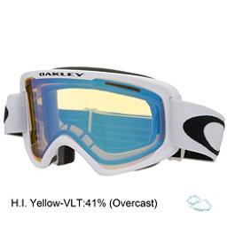 Oakley O2 XM Goggles 2018, Matte White-Hi Yellow, 256