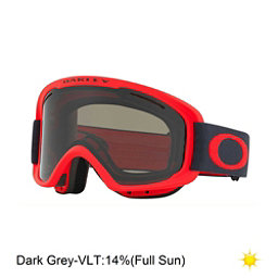 Oakley O2 XM Goggles 2018, Coral Iron-Dark Grey, 256
