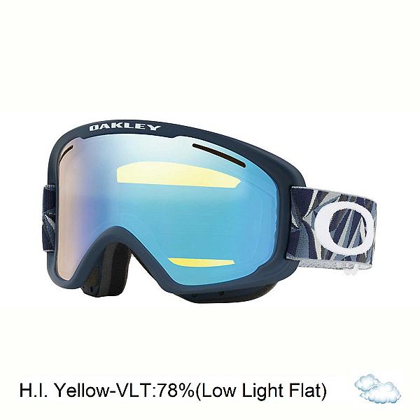 Oakley O2 XM Goggles, Facet Iron Fathom-Hi Intensity Yellow, 600