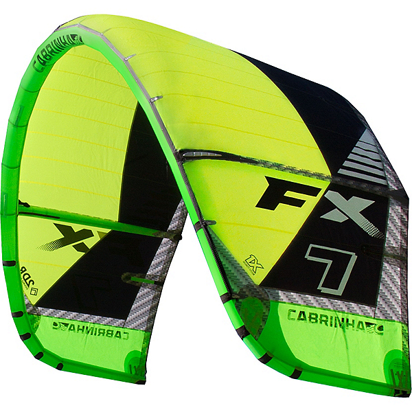 Cabrinha FX Kiteboarding Kite, Green, 600