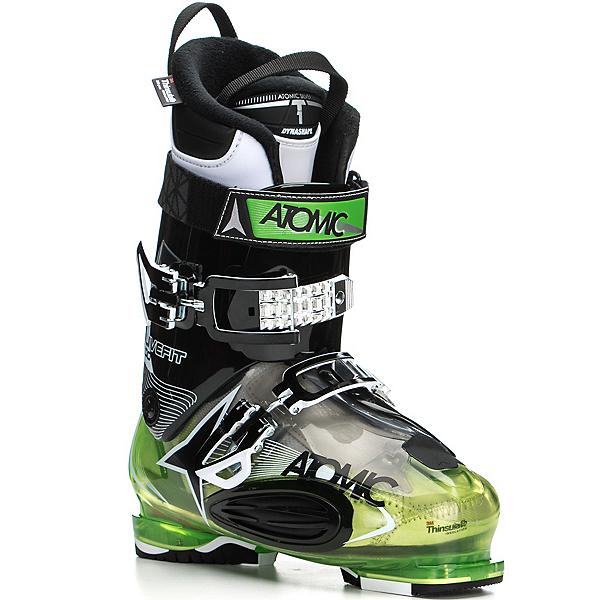 Atomic Live Fit 100 Ski Boots, Transparent Green-Black, 600
