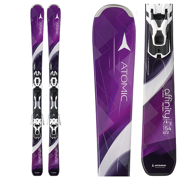Atomic Affinity Sky Womens Skis with XT 10 Ti Bindings, , 600