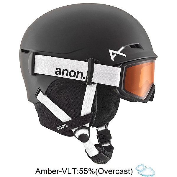Anon Define Kids Helmet 2018, Black, 600