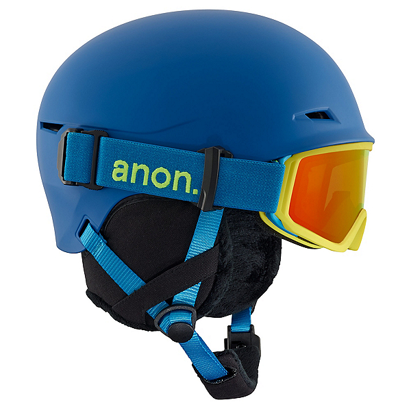 Anon Define Kids Helmet, Blue, 600