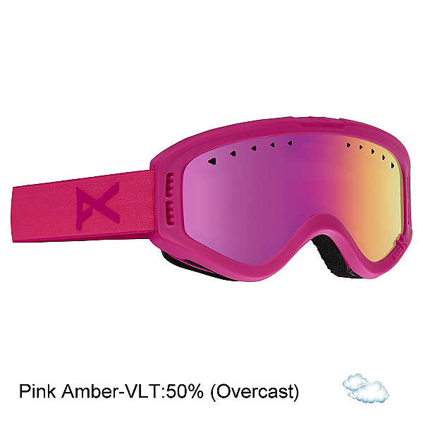 Anon Tracker Kids Goggles, Pink-Pink Amber, 600