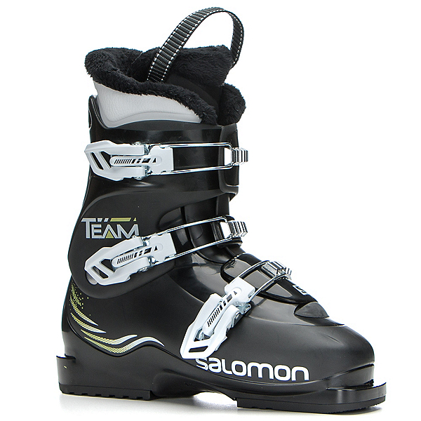 Salomon Team T3 Kids Ski Boots, Black-Black, 600