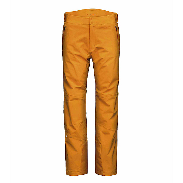 KJUS Formula Long Mens Ski Pants, Orange Pepper, 600