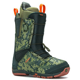 Burton Ruler Snowboard Boots, Green-Camo, 256