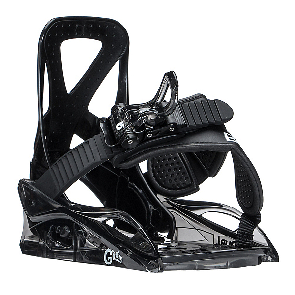 Burton Grom Kids Snowboard Bindings 2018, Black, 600