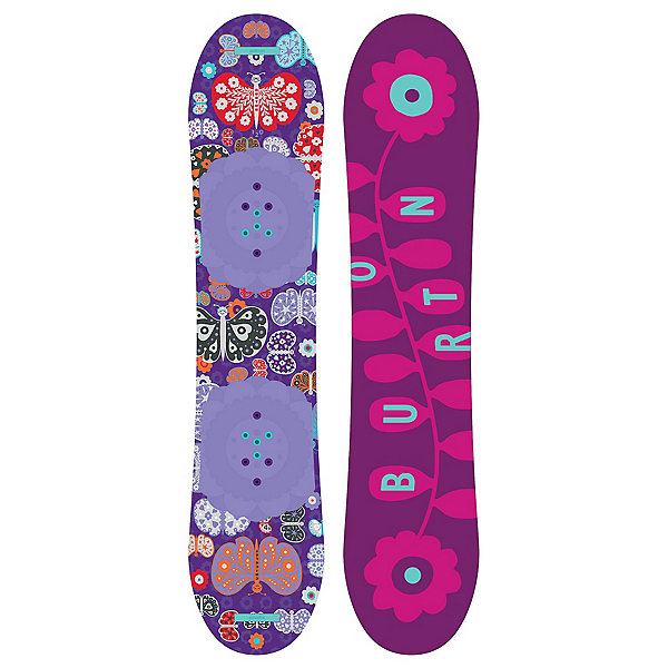 Burton Chicklet Girls Snowboard, 120cm, 600