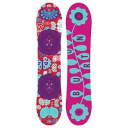 Burton Chicklet Girls Snowboard, 125cm, 256