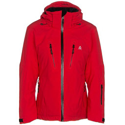 Volkl Perfect Fitting Petite Womens Insulated Ski Jacket, Red, 256