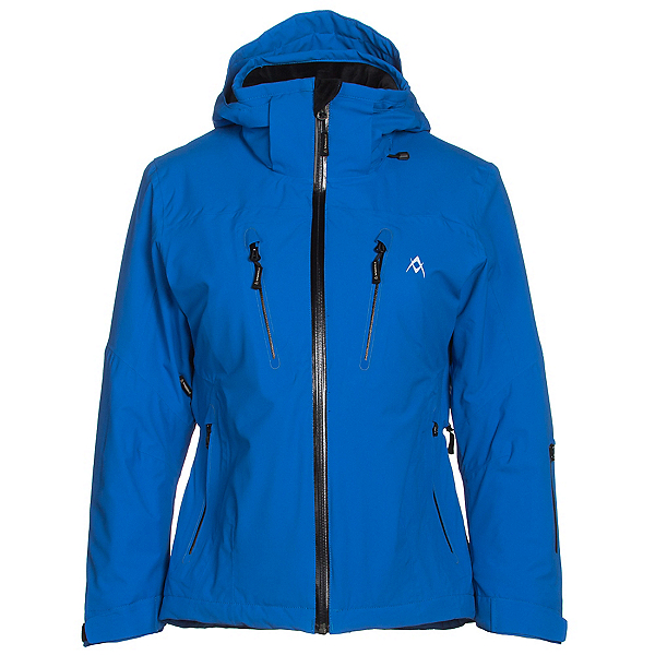 Volkl Perfect Fitting Womens Insulated Ski Jacket, Royal, 600
