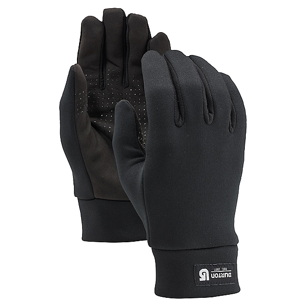 Burton Touch n Go Glove Liners, True Black, 600