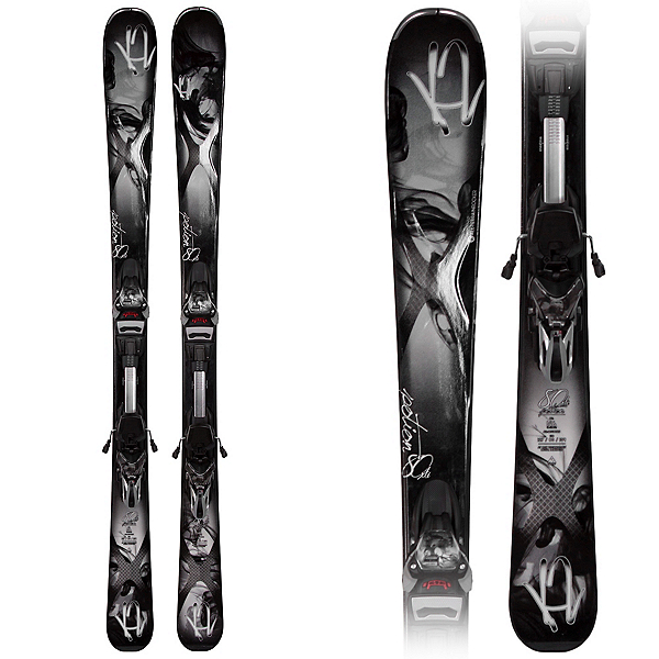 K2 Potion 80 XTi Q Womens Skis with ERC 11.0 TC Bindings, , 600
