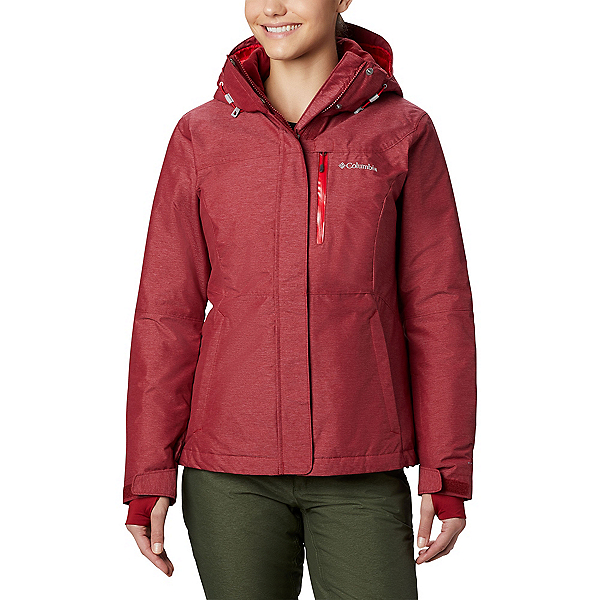 Columbia Alpine Action Plus Womens Insulated Ski Jacket, Beet, 600