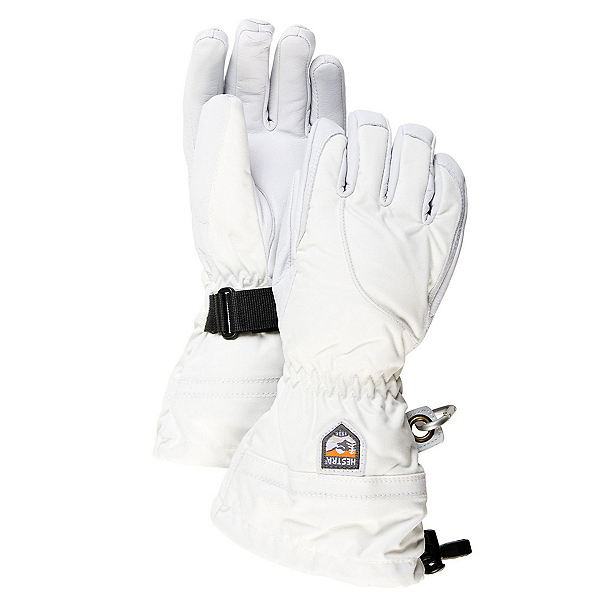 Hestra Heli Womens Gloves, Ivory-Off White, 600