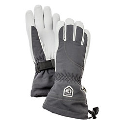Hestra Heli Womens Gloves, Grey-Off White, 256
