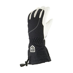 Hestra Heli Womens Gloves, Black-Off White, 256