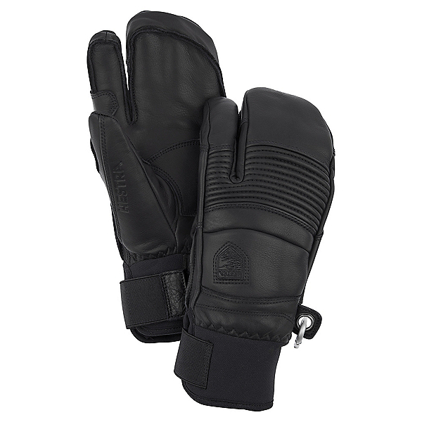Hestra Fall Line 3 Finger Gloves, Black, 600